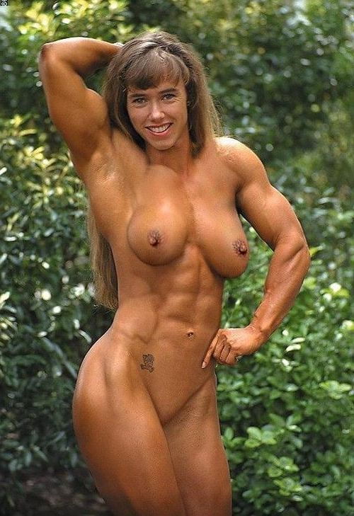 Porn muscle babe Large HD