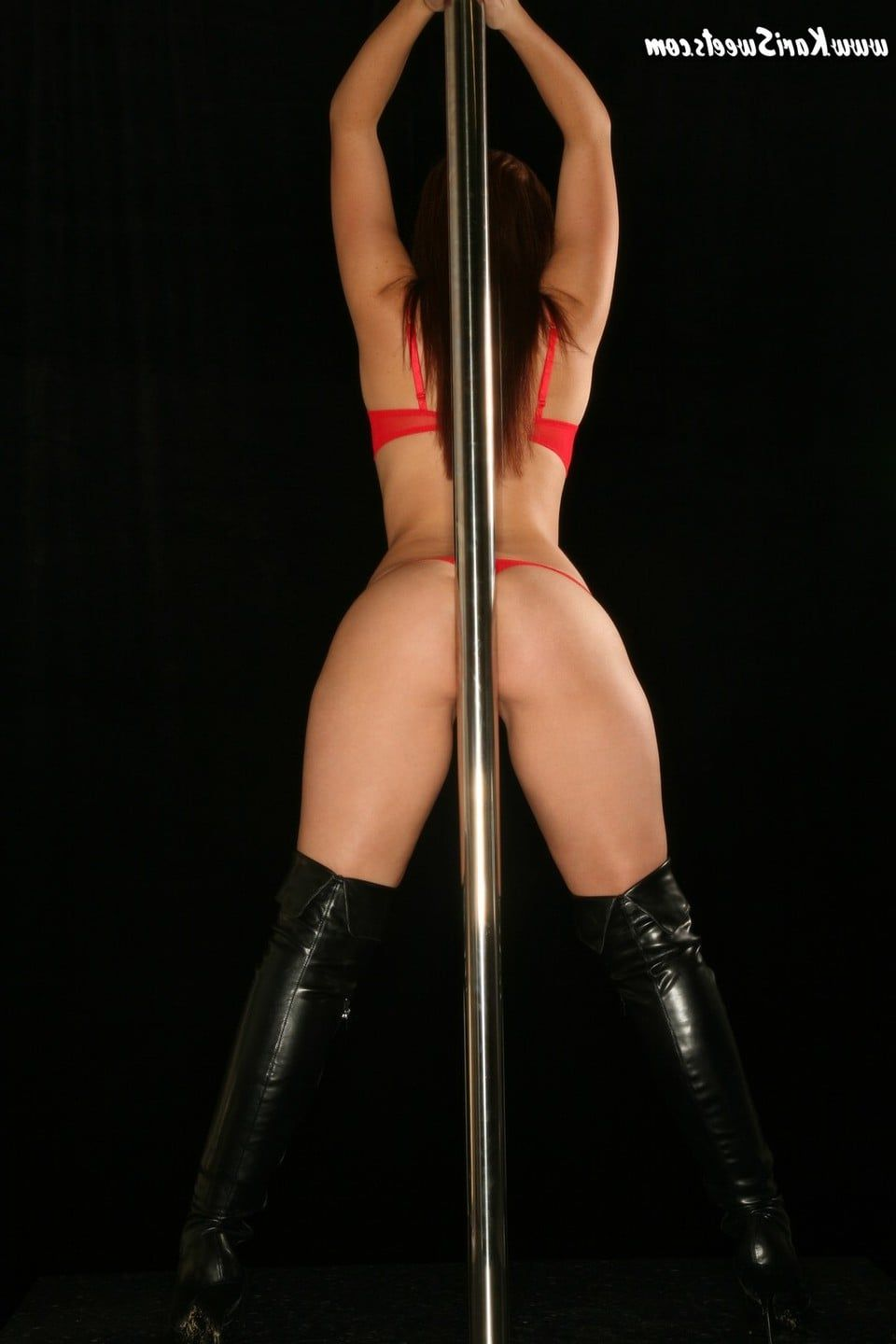 Nude women lap dancing will