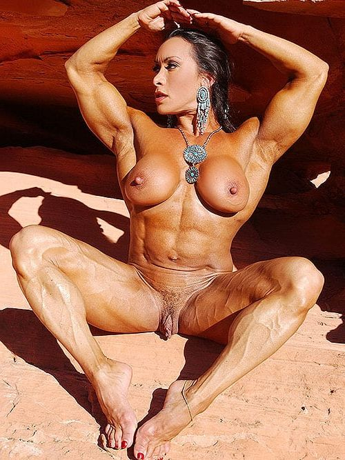 Huge clitoris female body builder porn