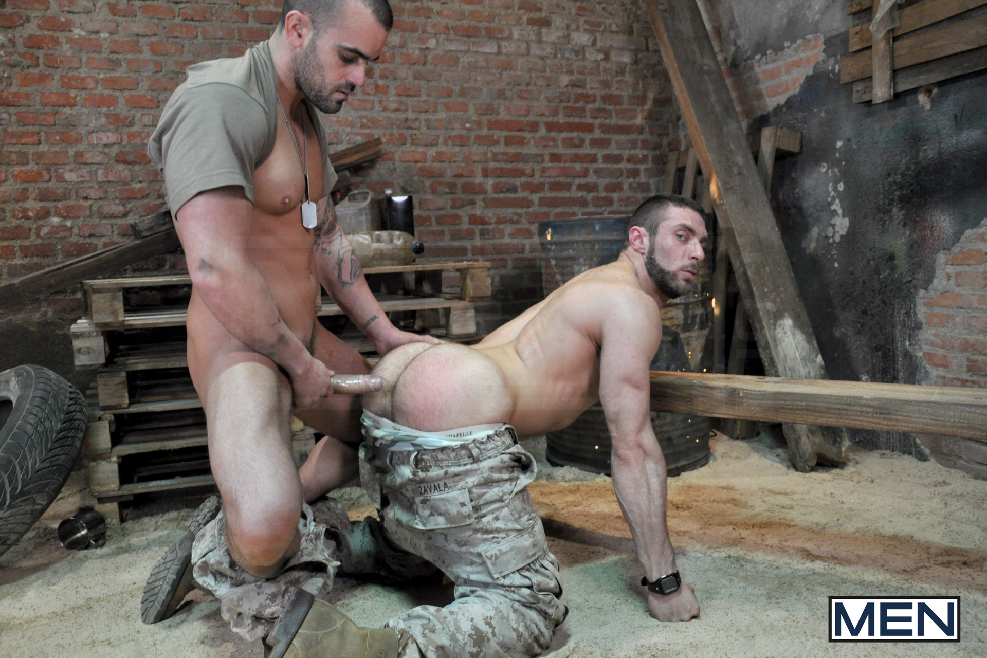 Men army porn