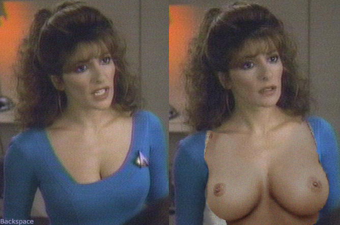 More modest Star trek marina sirtis nude fakes think, that