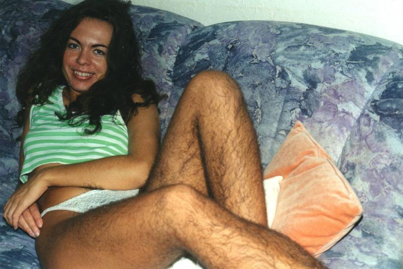 Nude women with hairy legs accept. The