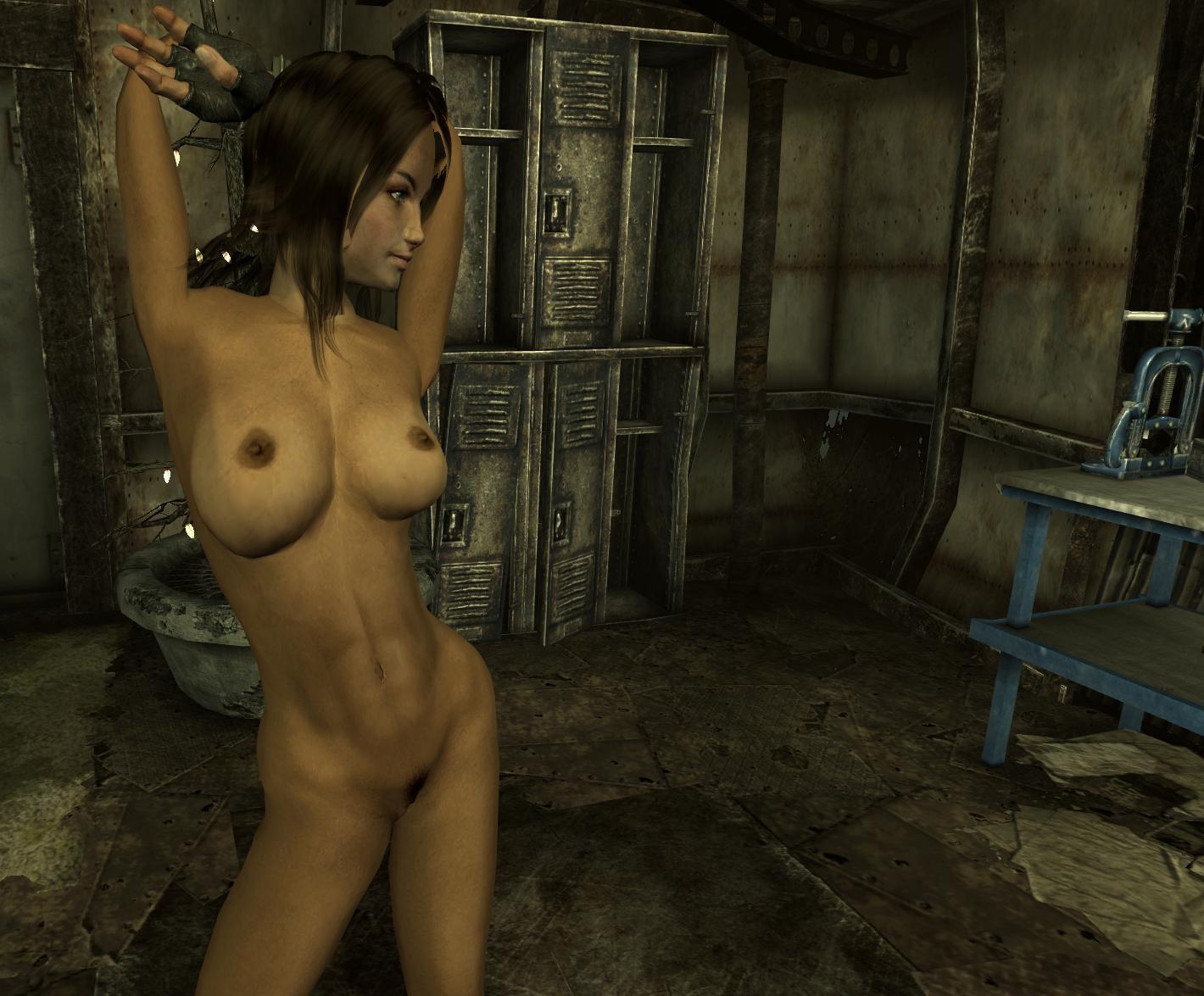 Голые девки для fallout 3