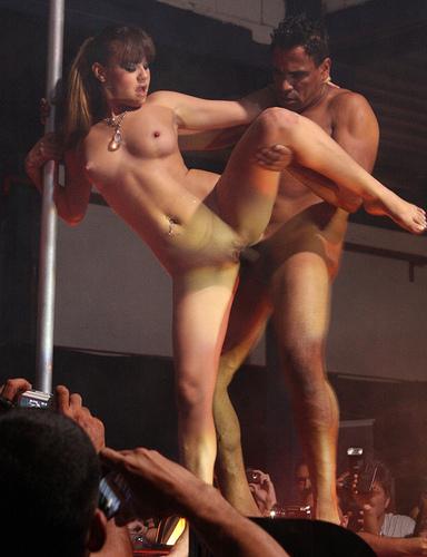 Stripper Sister Lap Dance