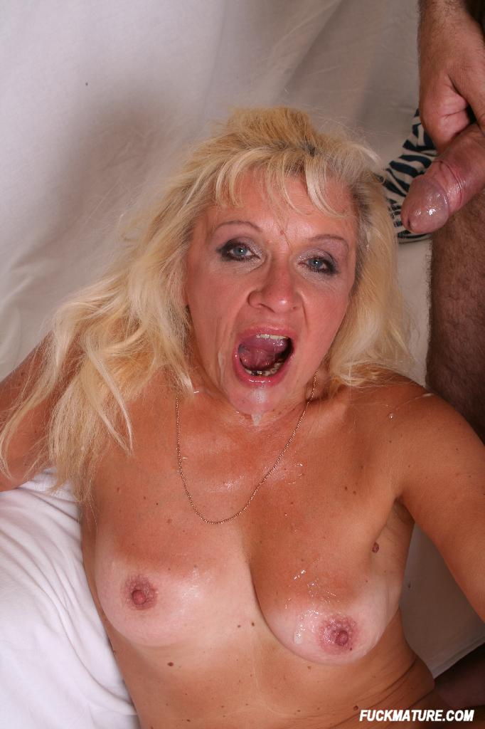 Mother Swallows Sons Cum